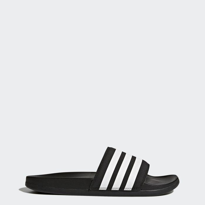 Adilette Comfort Slides | Black adidas, Blue adidas, Adidas