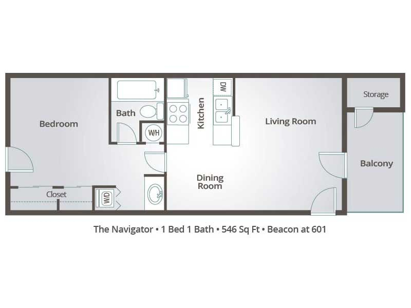 One Bedroom Apartment Floor Plans Google Search Apartment Floor Plans Floor Plans One Bedroom Apartment