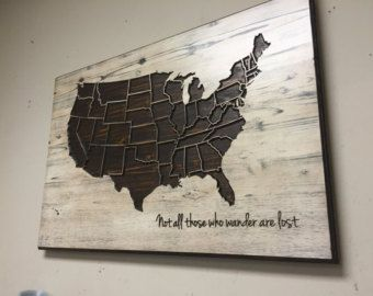 Wooden world map decor wood wall art personalized by howdyowl maps wooden world map decor wood wall art personalized by howdyowl gumiabroncs Gallery