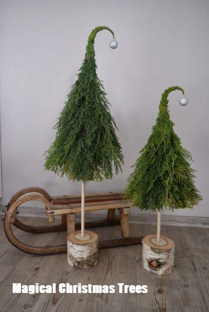 Magische Weihnachtsbäume #diychristmastree #healthyskin
