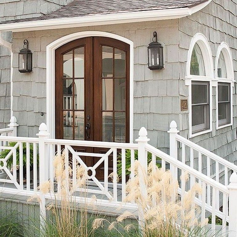 45+ Unique Wood Railing Ideas For Your House Style