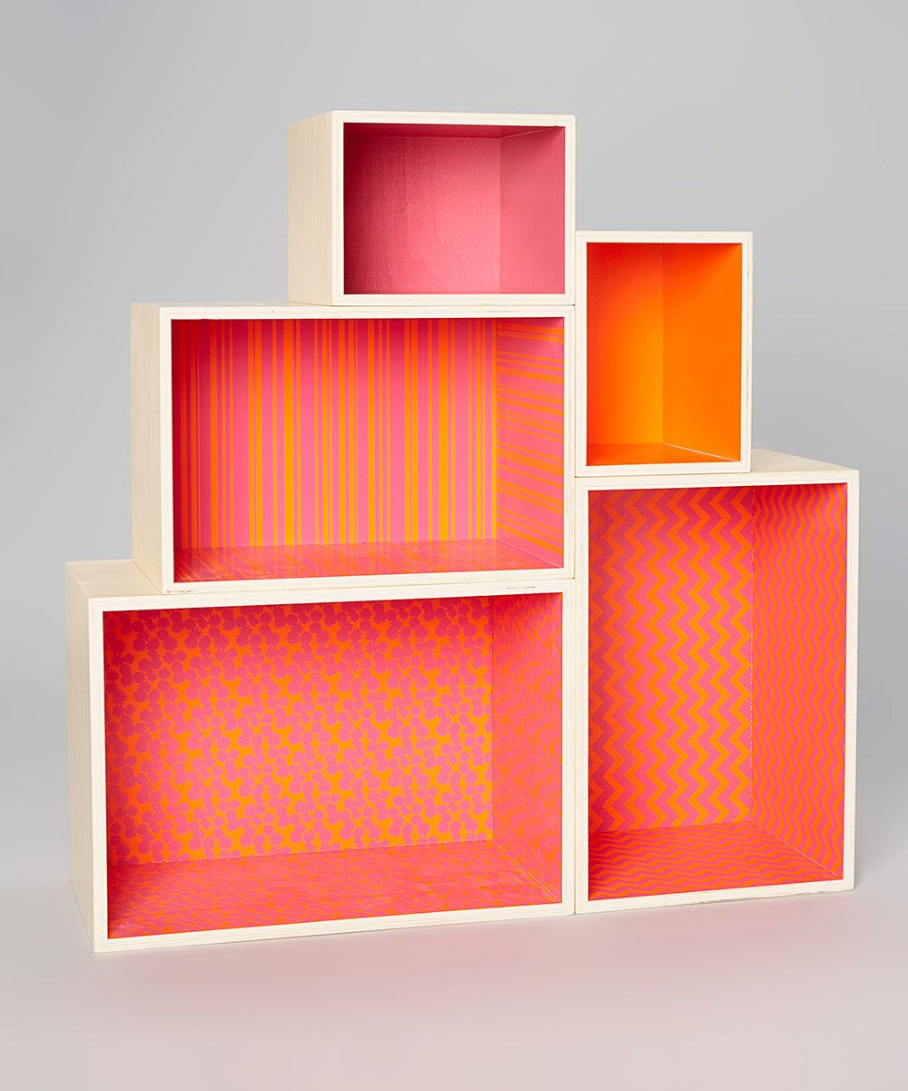 This Studio BGD Atomic Pink Storage Dollhouse by Studio BGD is perfect! #zulilyfinds