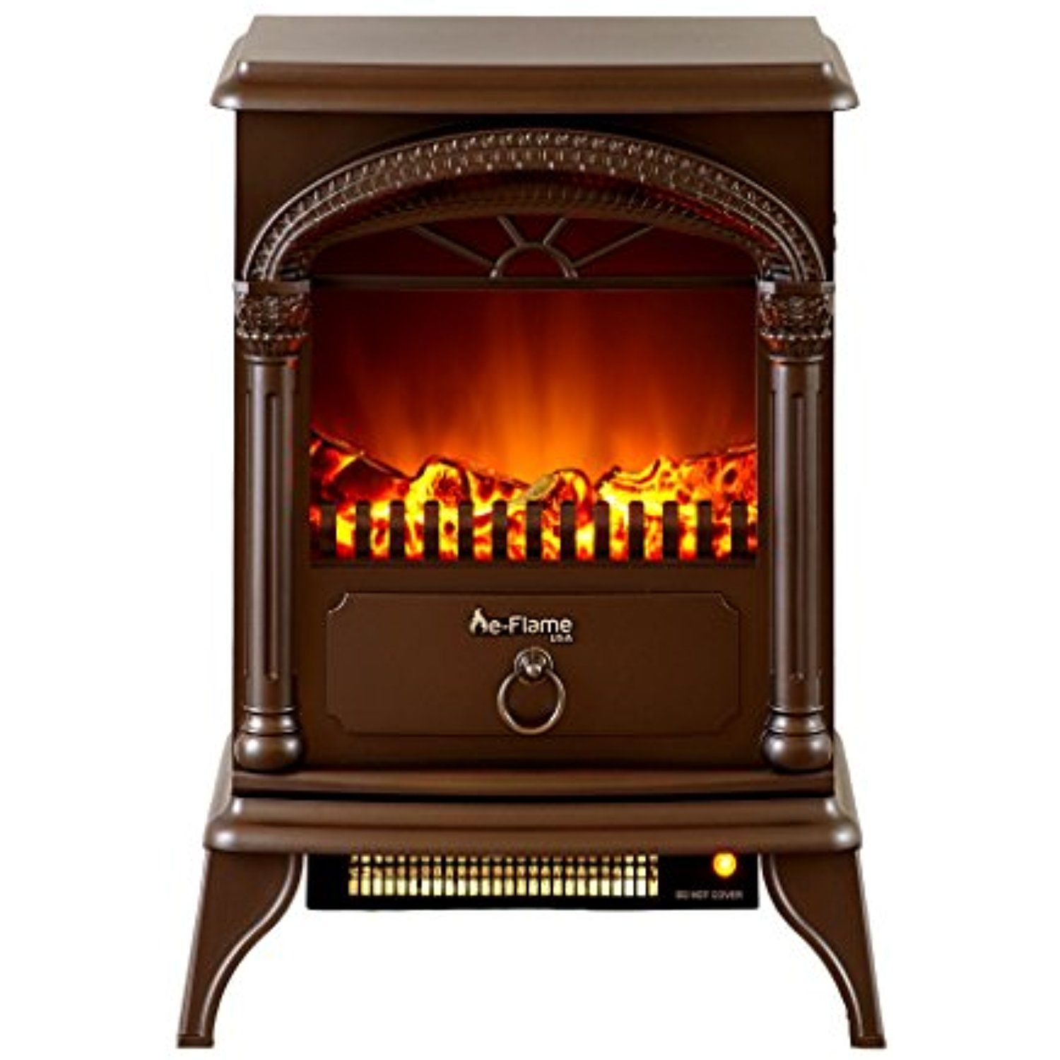 Hamilton Portable Free Standing Electric Fireplace Stove