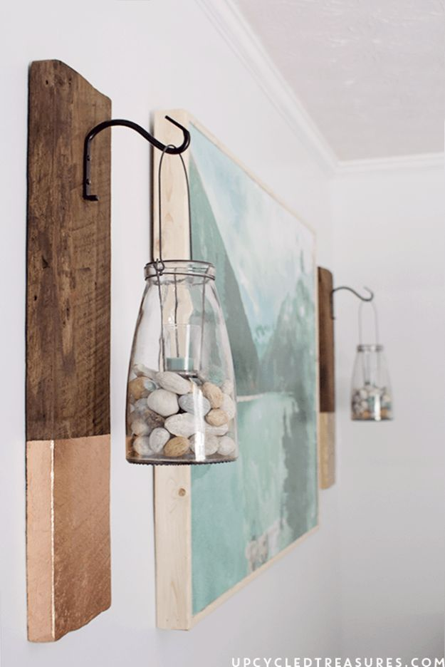 43 diy patio and porch decor ideas hanging pictures rustic walls diy wall art ideas and do it yourself wall decor for living room bedroom bathroom teen rooms diy modern rustic wall hanging cheap ideas for those on solutioingenieria Images