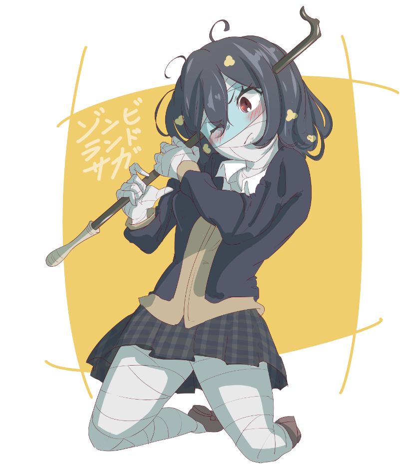 Ai Ai Haha Piada Com O Nome Dela De Novo Zombie Girl Anime Zombie Zombie Land Saga