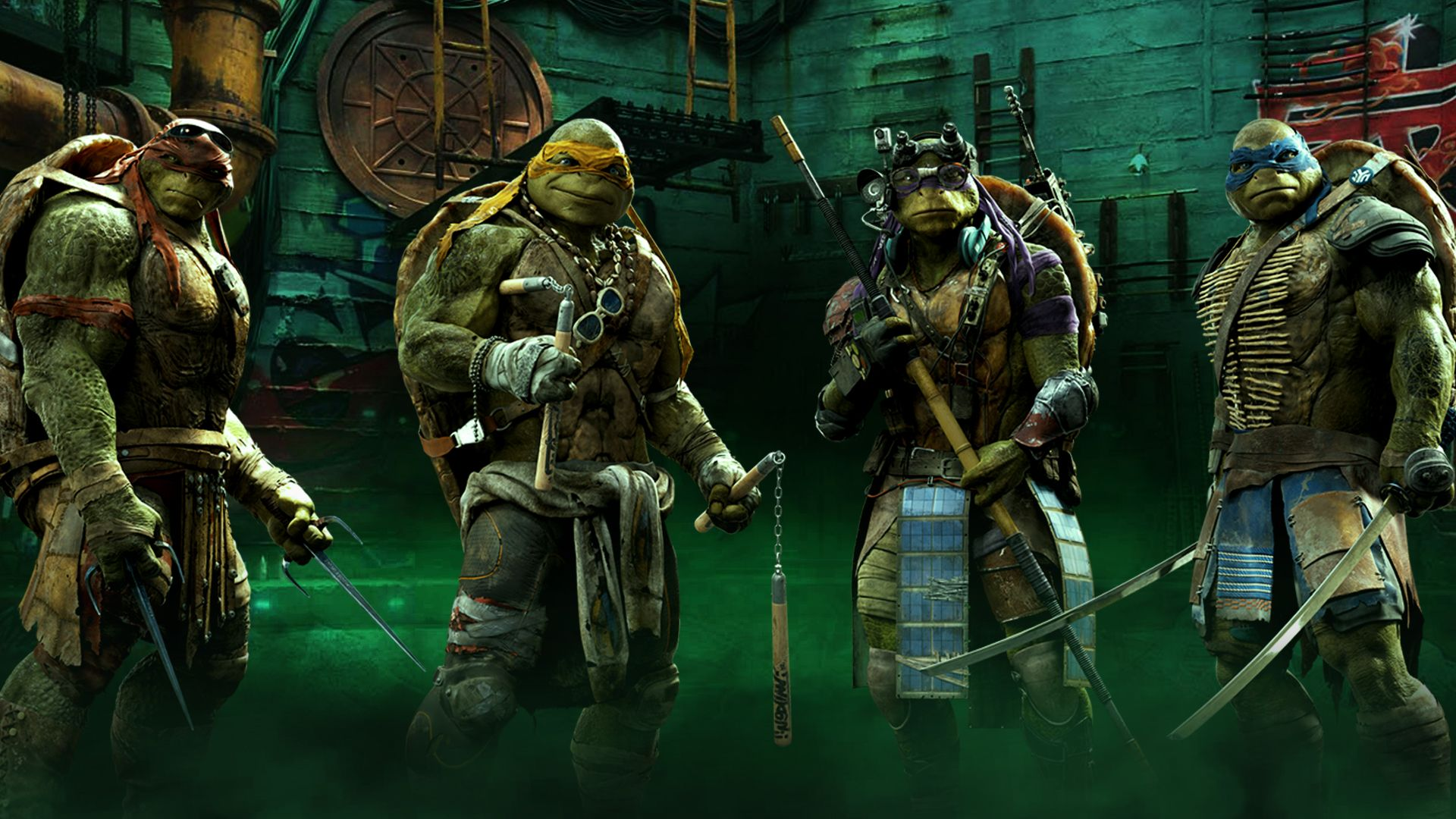teenage mutant ninja turtles out of the shadows game cycle chic