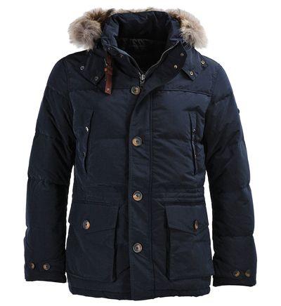 Parka snowdon Hackett London Bleu marine | For man | Parka