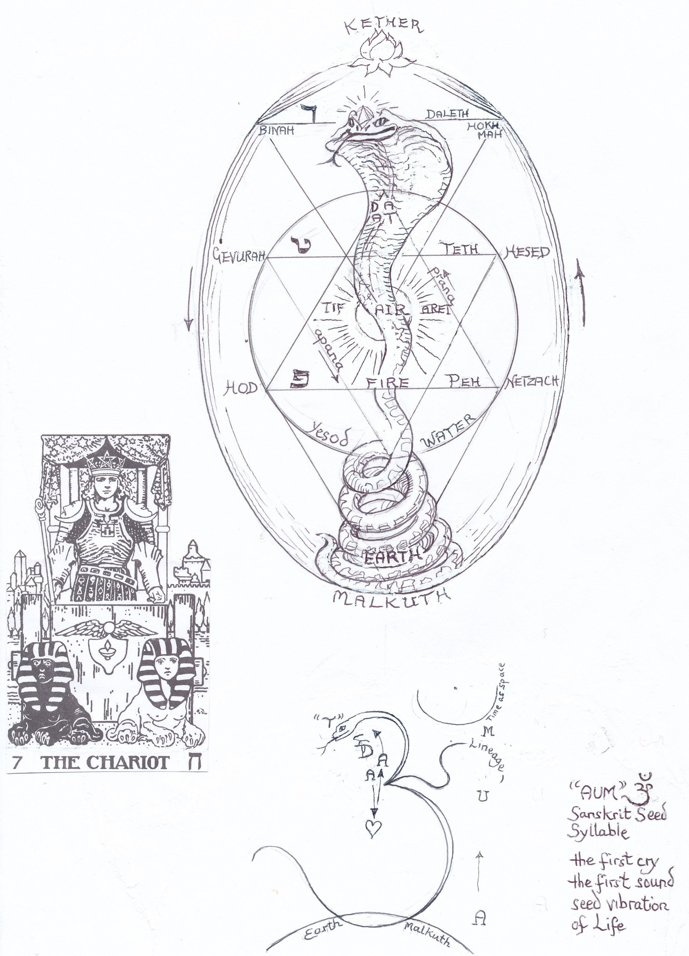 small resolution of kundalini shakti in the tree of life