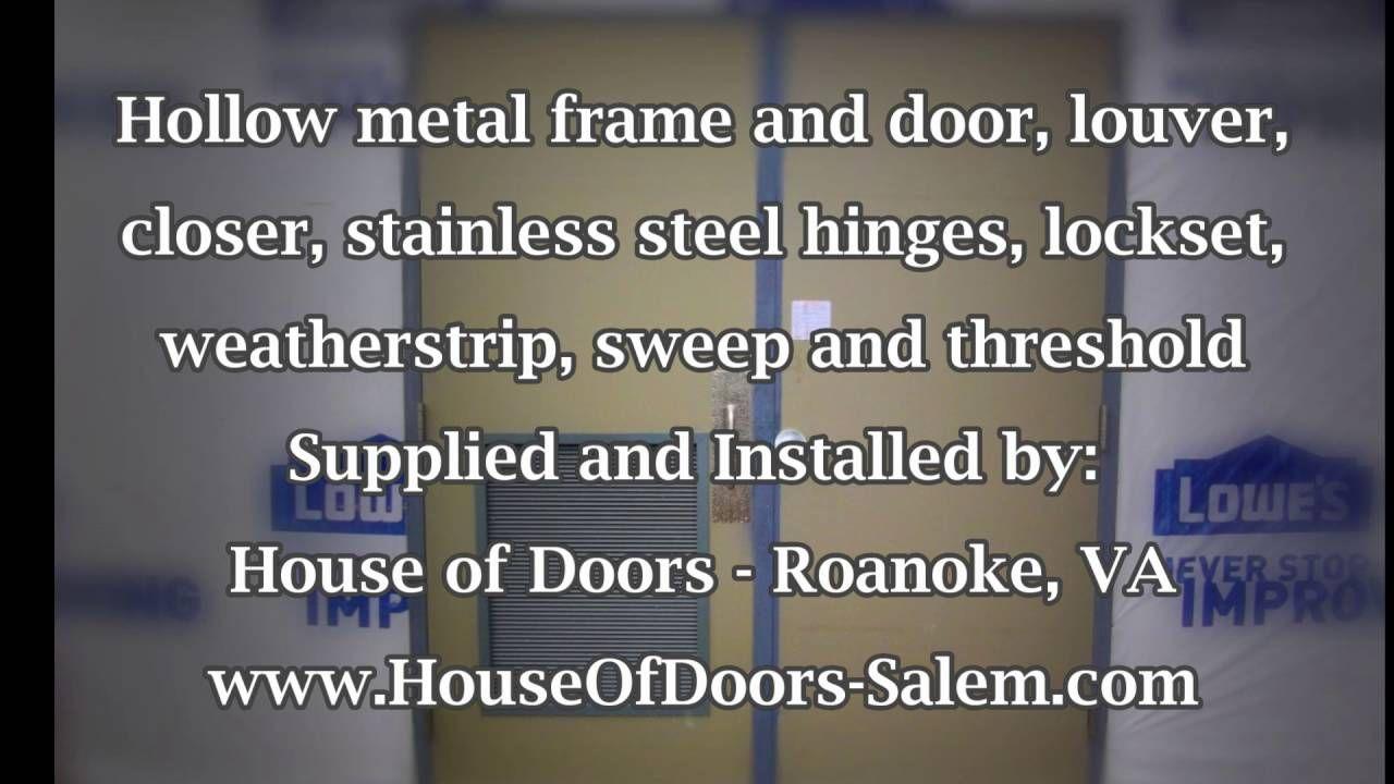 how to hang a mezuzah on a metal door frame