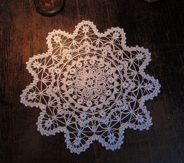 Vintage Victorian Lace Doily | Crochet | Pinterest