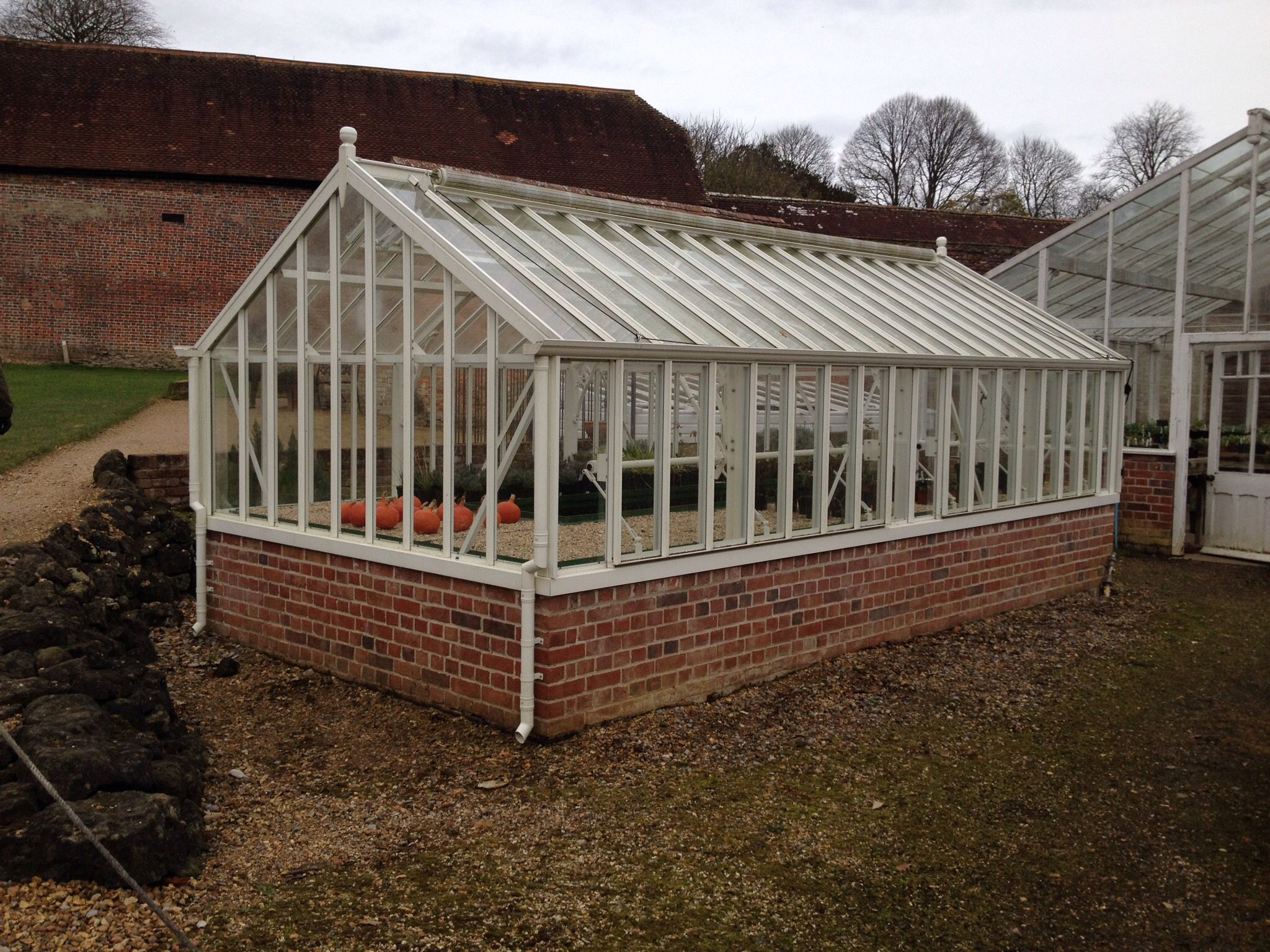 The green house mere - Greenhouse In Kitchen Gardens At Stourhead Near Mere Photo Credit Mansell