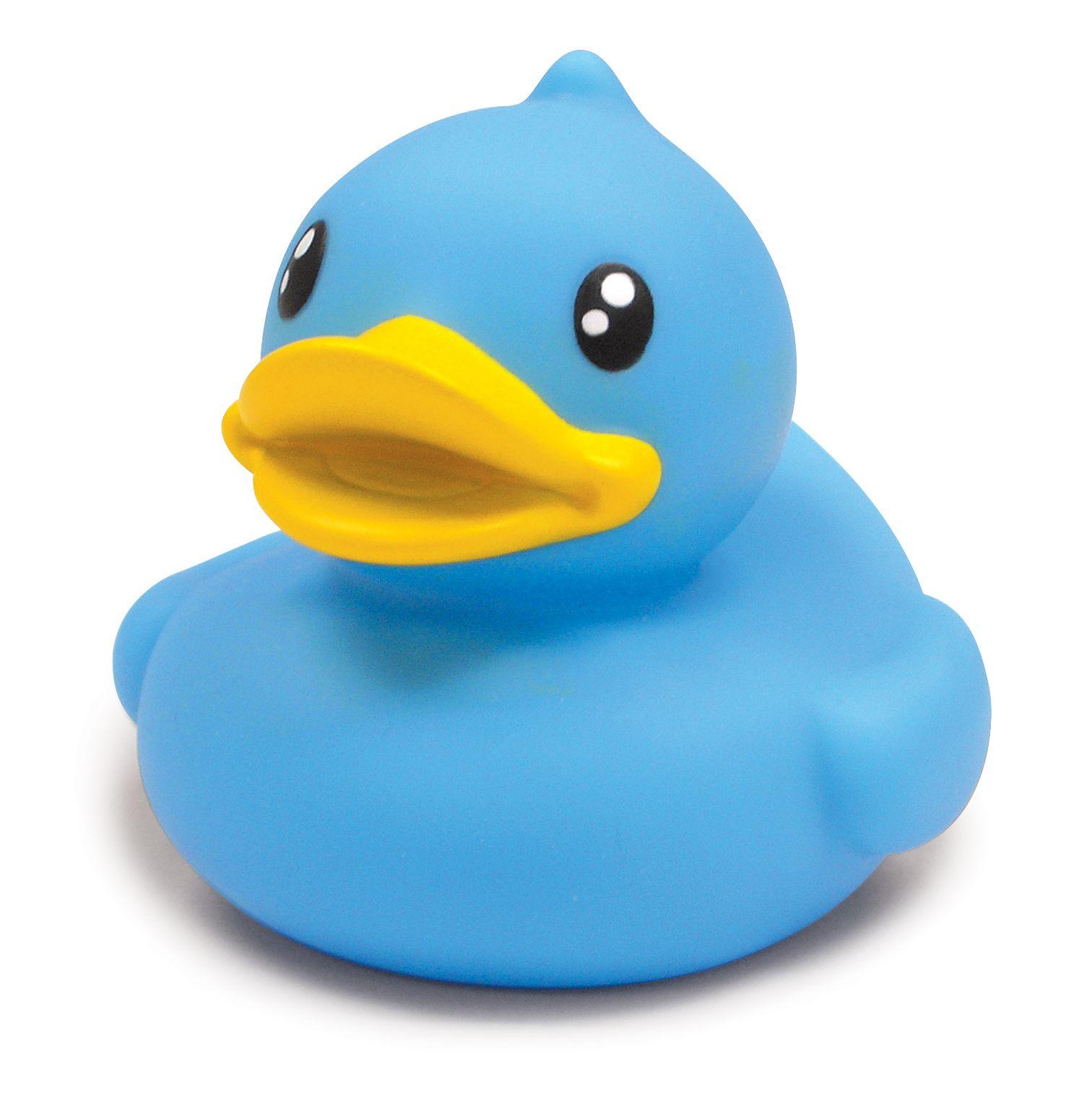 Floating Blue B duck ¡A ba±arse de azul B duck