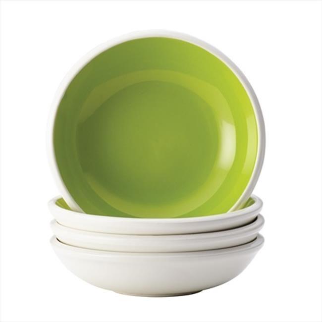 Rachael Ray 58737 4 Piece Dinnerware Rise Stoneware Fruit Bowl