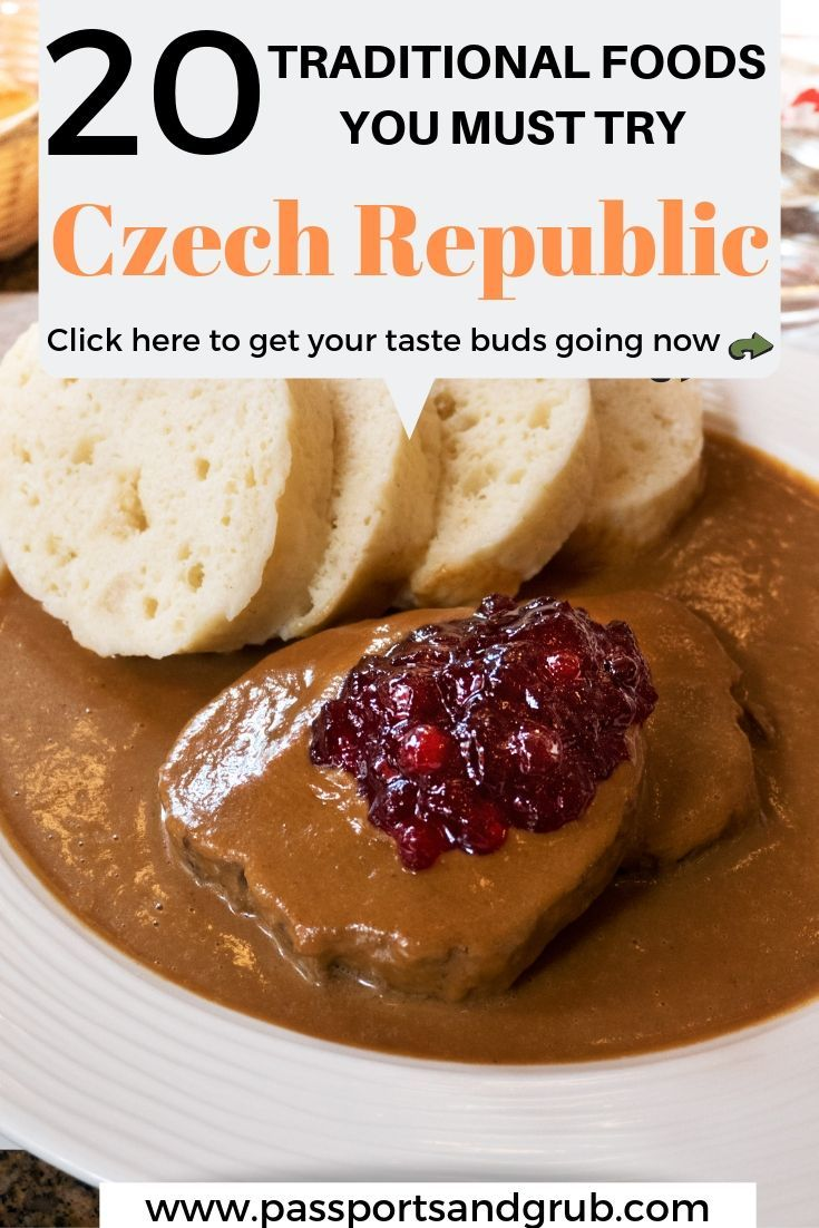 20 Traditional Dishes You Must Taste in The Czech Republic #czechfood