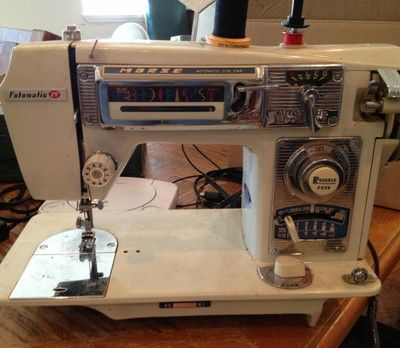 Morse 400 Sewing Machine Very Good Condition Fotomatic IV 40 No Gorgeous Morse 4400 Sewing Machine