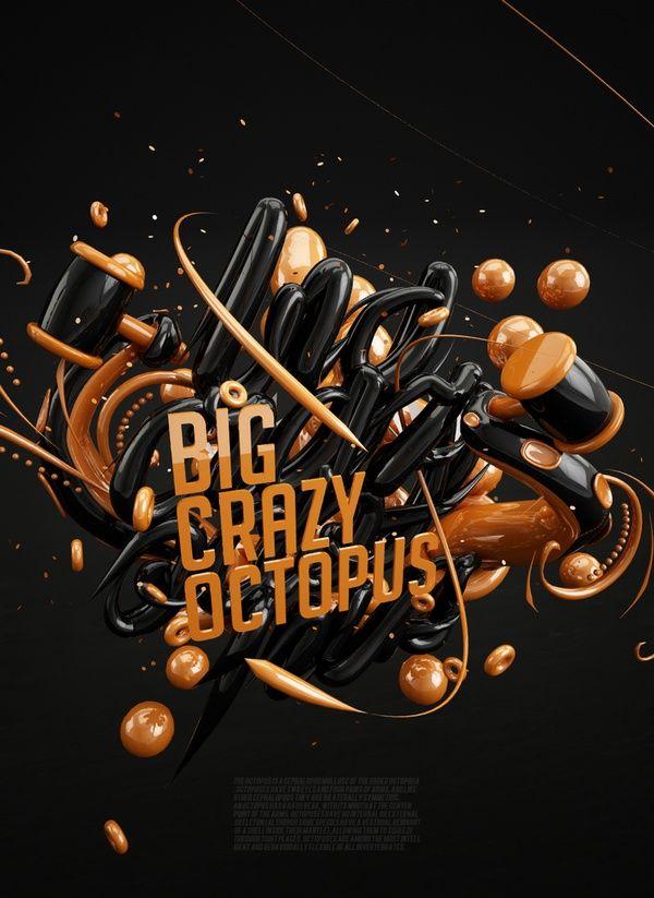 Big Crazy Octopus by Dmitry Rockstar