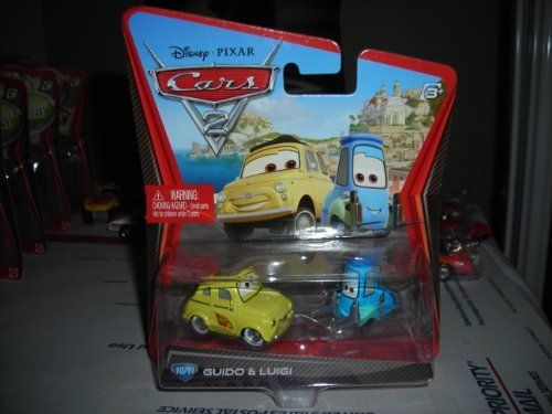 new release car moviesDISNEY PIXAR CARS 2 LUIGI  GUIDO 1011 DIECAST VHTF NEW 155 by