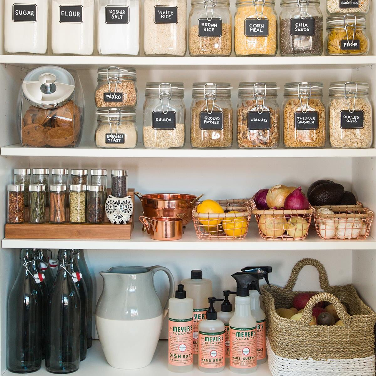 Pantry organization for a healthy new year organisation - Astuces organisation maison ...