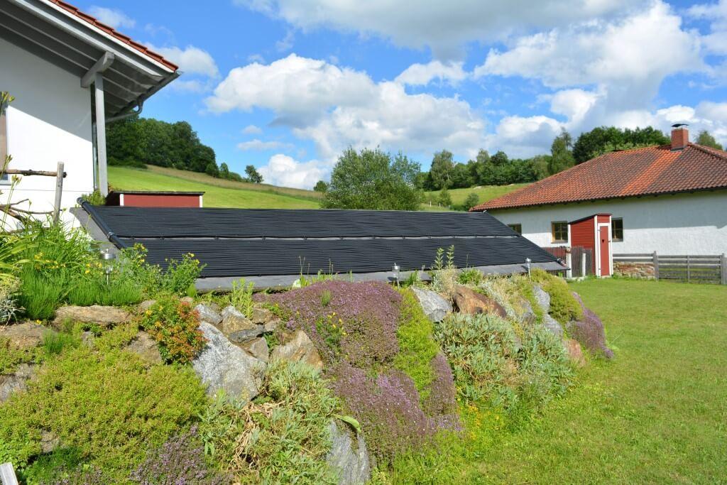 Solar Poolheizung - Auständerung 1,5m x 6m U-Design #Poolheizung ...