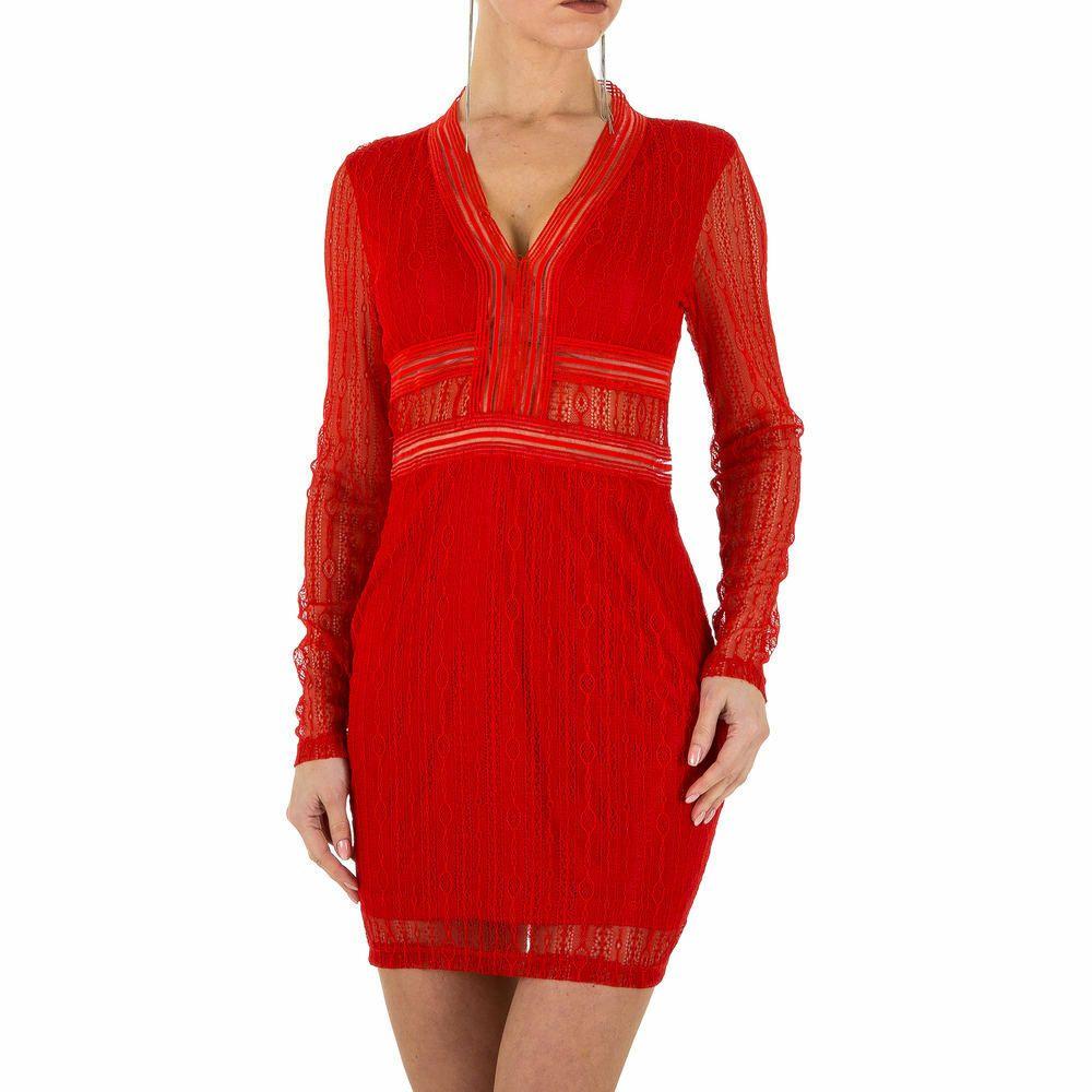 KURZES SPITZEN DAMEN KLEID M Rot 220 20€  eBay  Kleider für