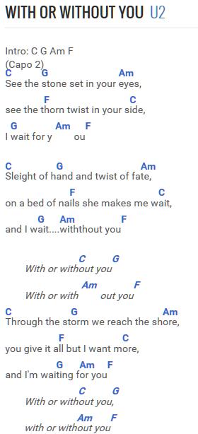 U2 - With Or Without You … | Muziek |…