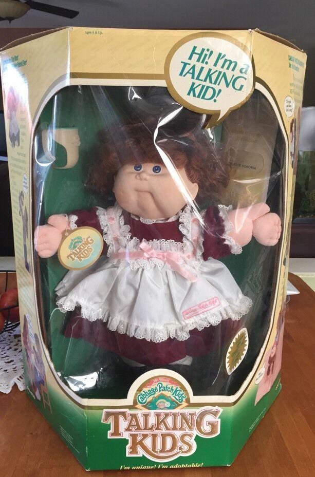 Cabbage Patch Kids Talking Kids Celeste Honoria New In Original Box 1987 Cabbage Patch Kids Cabbage Patch Dolls Cabbage Patch
