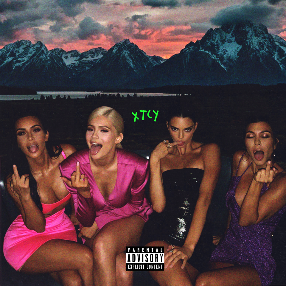 Xtcy Cover Art I Made Kanye Art Collage Wall Bad Girl Aesthetic Music Cover Photos