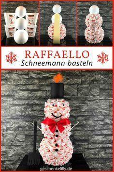Zum Raffaello Schneemann basteln benötigst du ca. eine Stunde Zeit und hast damit eine schöne... Zum Raffaello Schneemann basteln benötigst du ca. eine Stunde Zeit und hast damit eine schöne Weih... ,