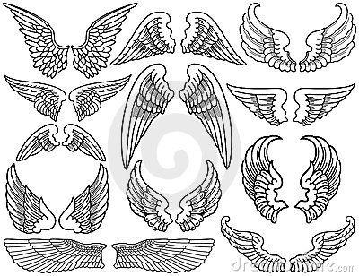 Ali Di Angelo 04 Angeli Tatuajes De Alas Dibujo De Alas E Alas