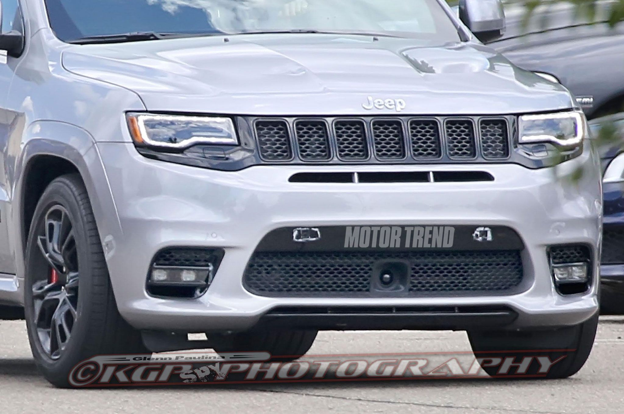 Spied 2018 Jeep Grand Cherokee Trackhawk In The Buff Jeep Grand