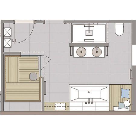 dieses badezimmer ist eine echte wellness-oase | saunas, Wohnzimmer dekoo