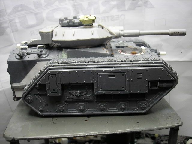 Leman russ annihilator conversion parts