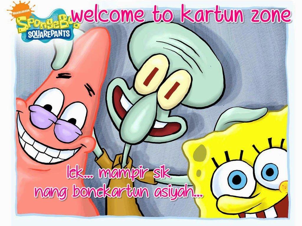 mampir ke bonekartun asiyah zone Kartun, Spongebob, Lucu