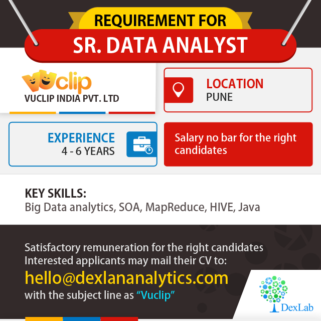 Contact DexlabAnalytics For Opportunities In Big Data