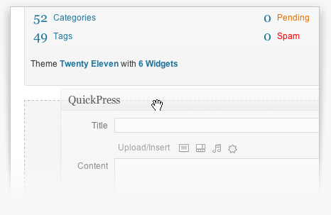 Localized version screenshot Wordpress, Apps, Software