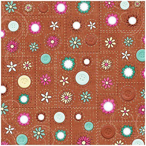 Karen Foster Design Scrapbooking Paper, 25 Sheets, Scrap Time, 12 x 12' ** For more information, visit image link.