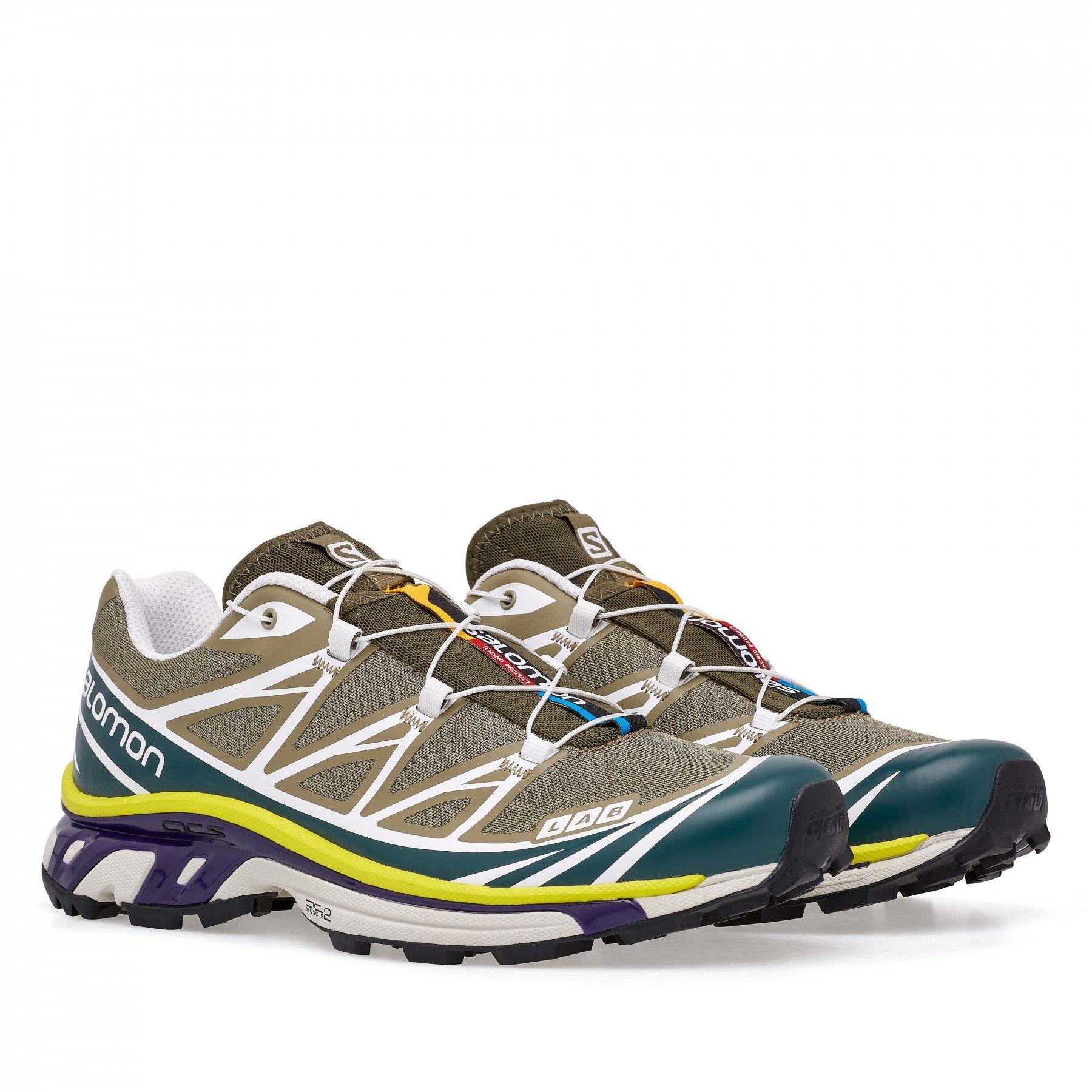 Salomon SLab Xt 6 Lt Adv (Green) | Shoes in 2019 | Running