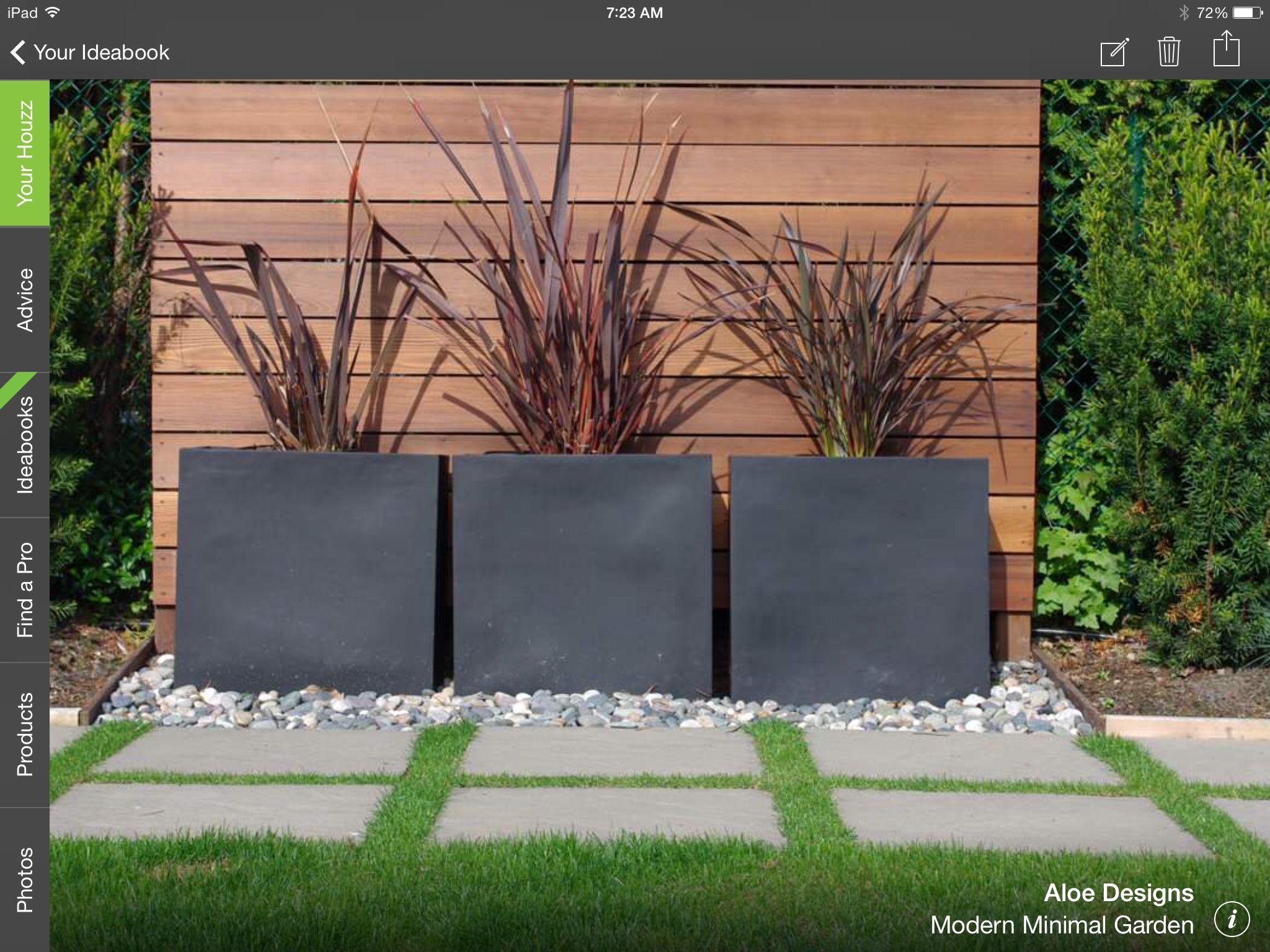 Simple Modern And Elegant Plantings Modern Landscape Design Modern Landscaping Modern Garden Design