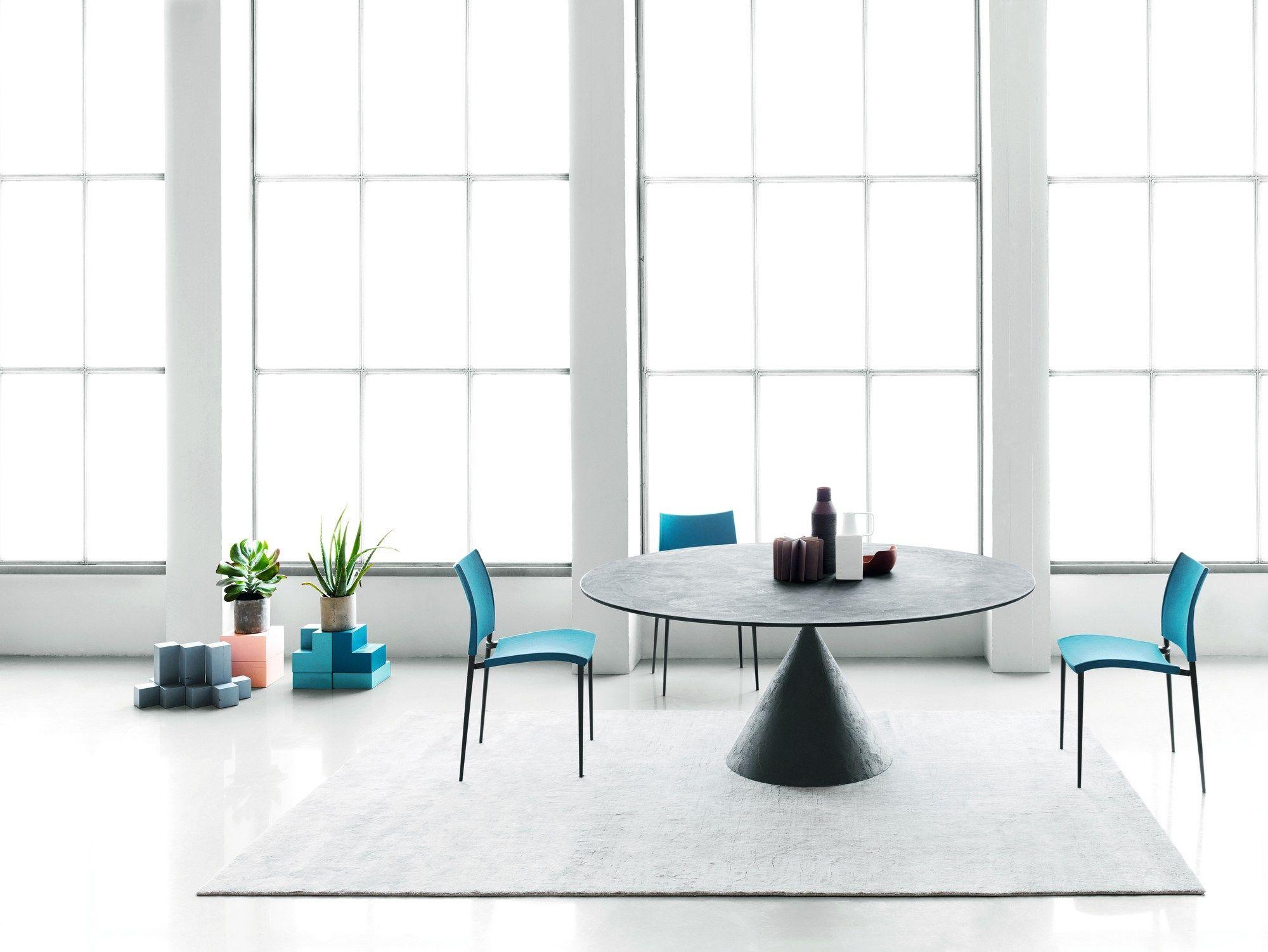 Clay Stone Tabledesalto Design Marc Krusin  Casa Piazza Best Designer Kitchen Tables Review