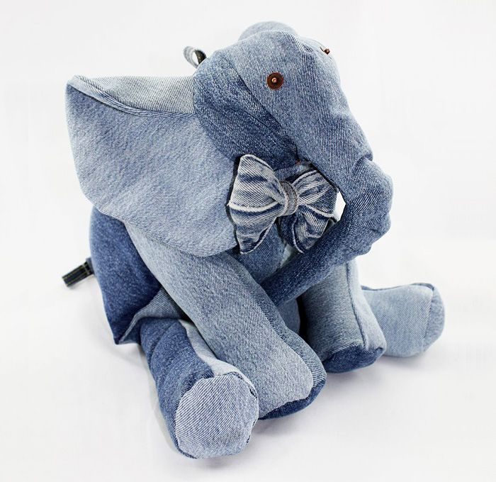 Maison Indigo Stuffed Animals Elephant Jungle Safari