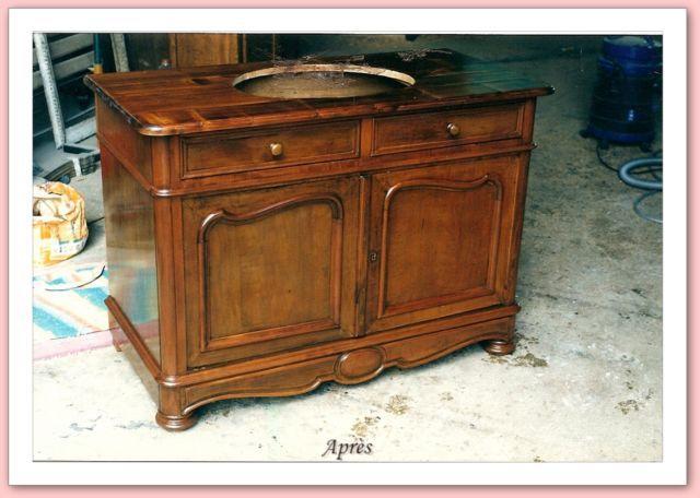 Restaurer un vieux meuble