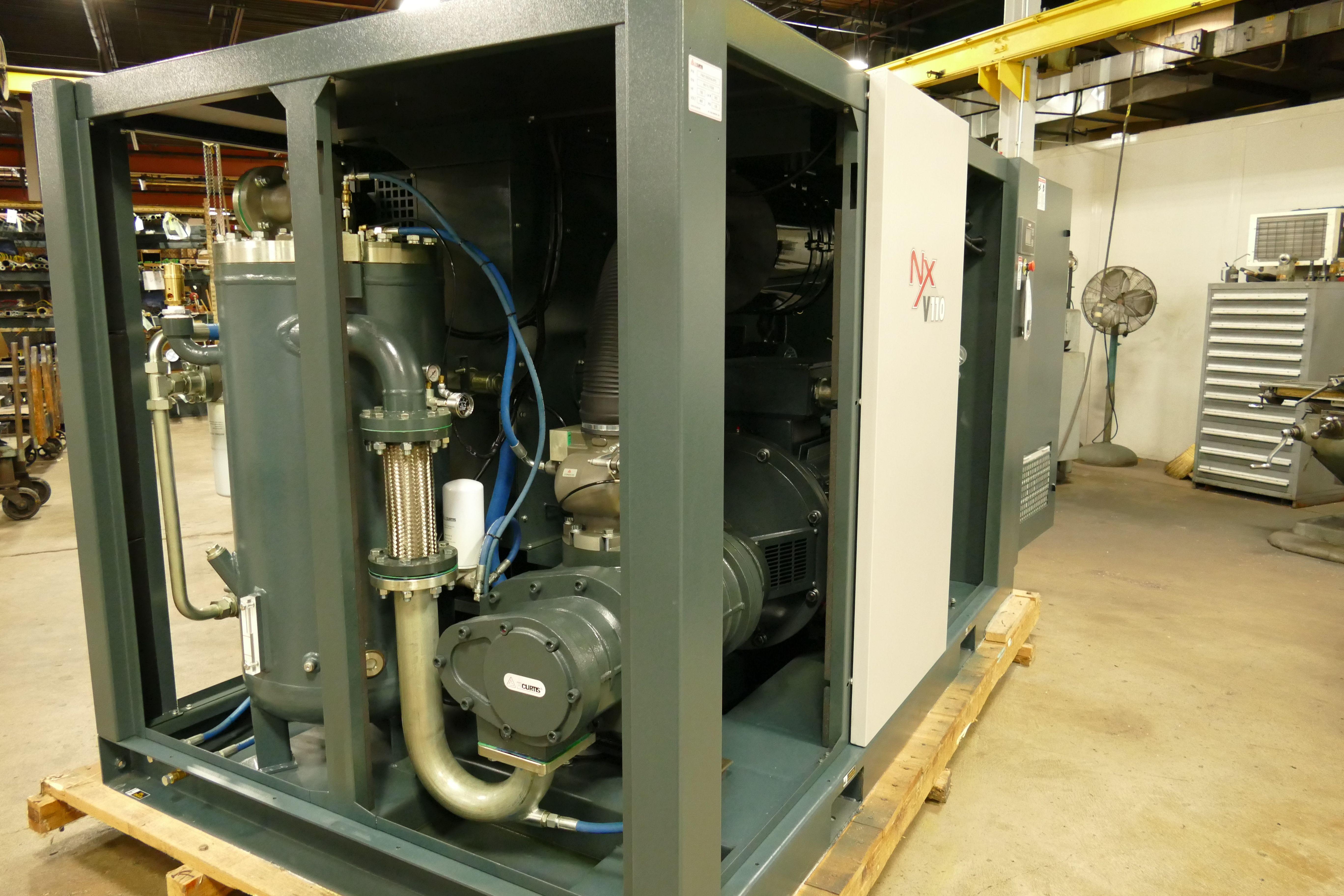 100HP ROTARY SCREW COMPRESSOR, AIR COMPRESSOR SERVICE