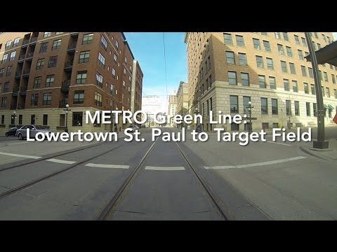 Wondering what it will be like to ride the new Twin Cities Green Line? Here's a time lapse video.