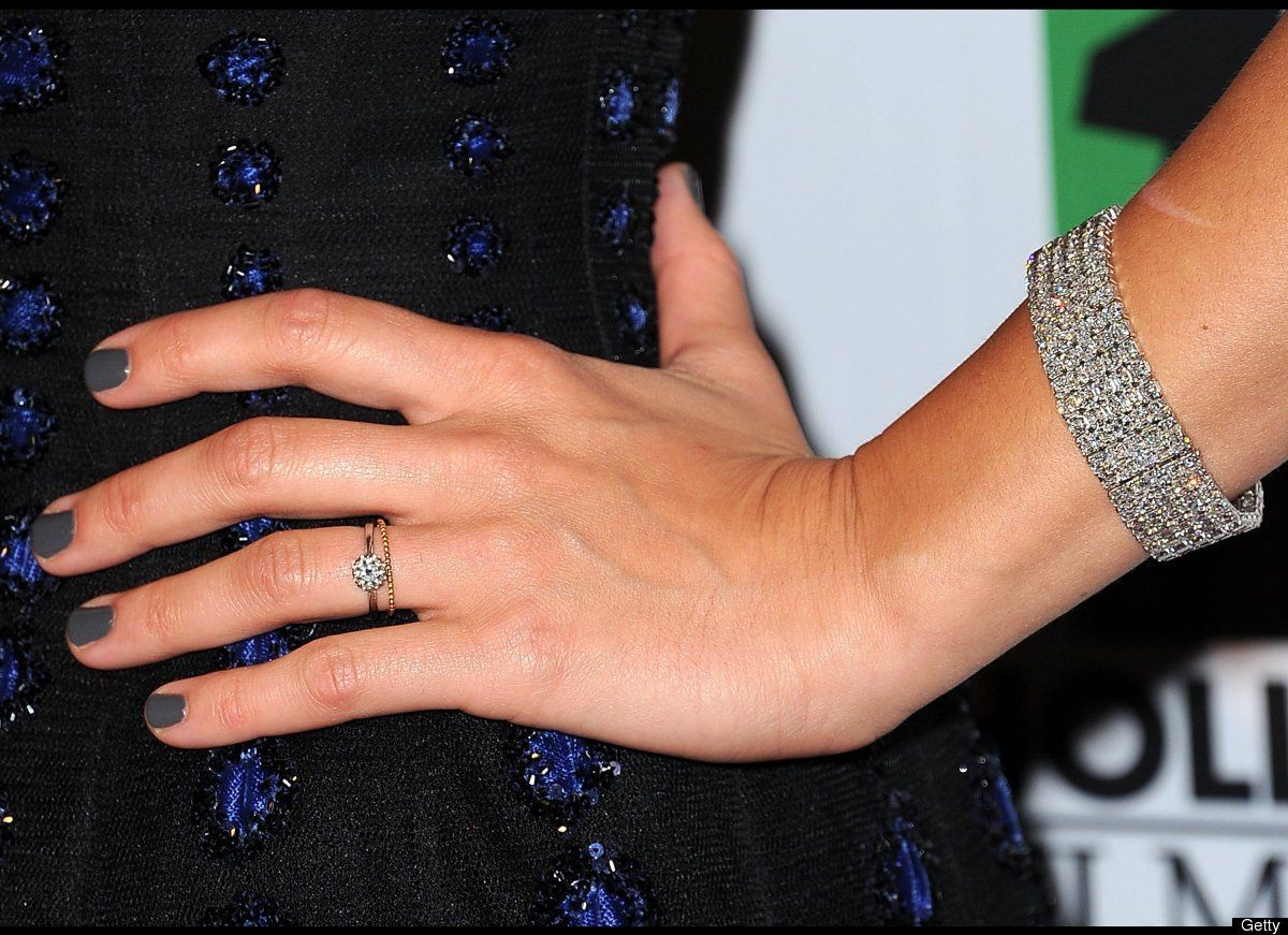 Marion Cotillard's Engagement Ring Photo By Getty: Rachel Zoe Wedding Band At Websimilar.org