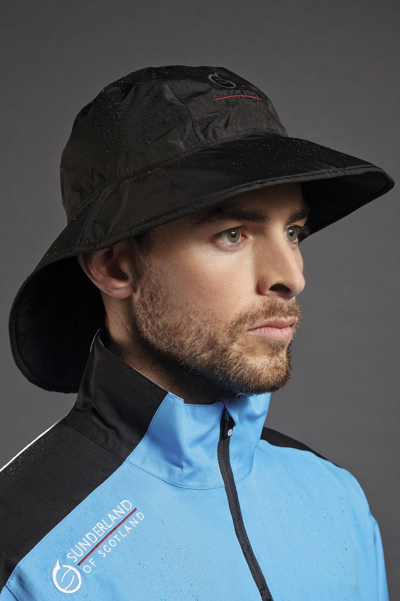 Mens   Ladies Ultra Lightweight Wide Brim Waterproof Golf Hat ... e76ae2c738d