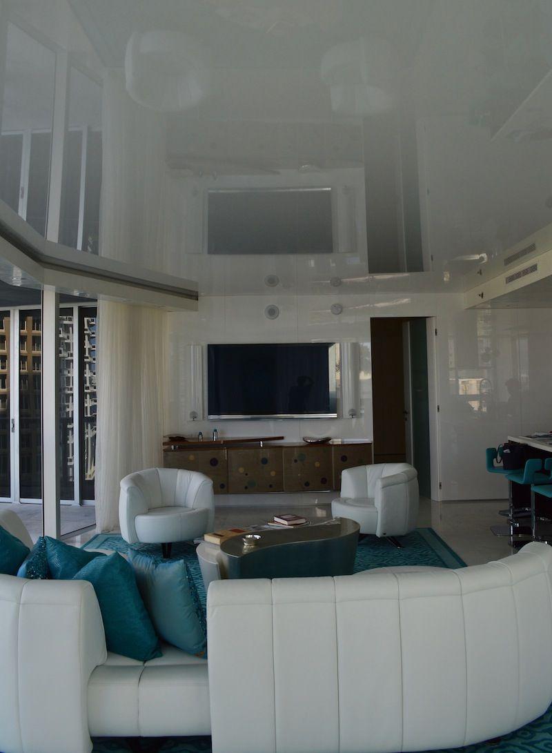 High Tech White Ceiling