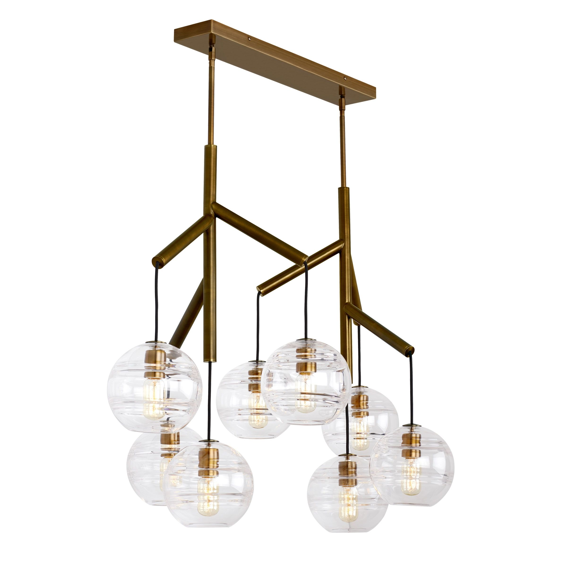 Sedona Chandelier By Tech Lighting 700sdnms Led927