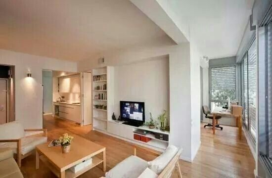 Apartment interior:)