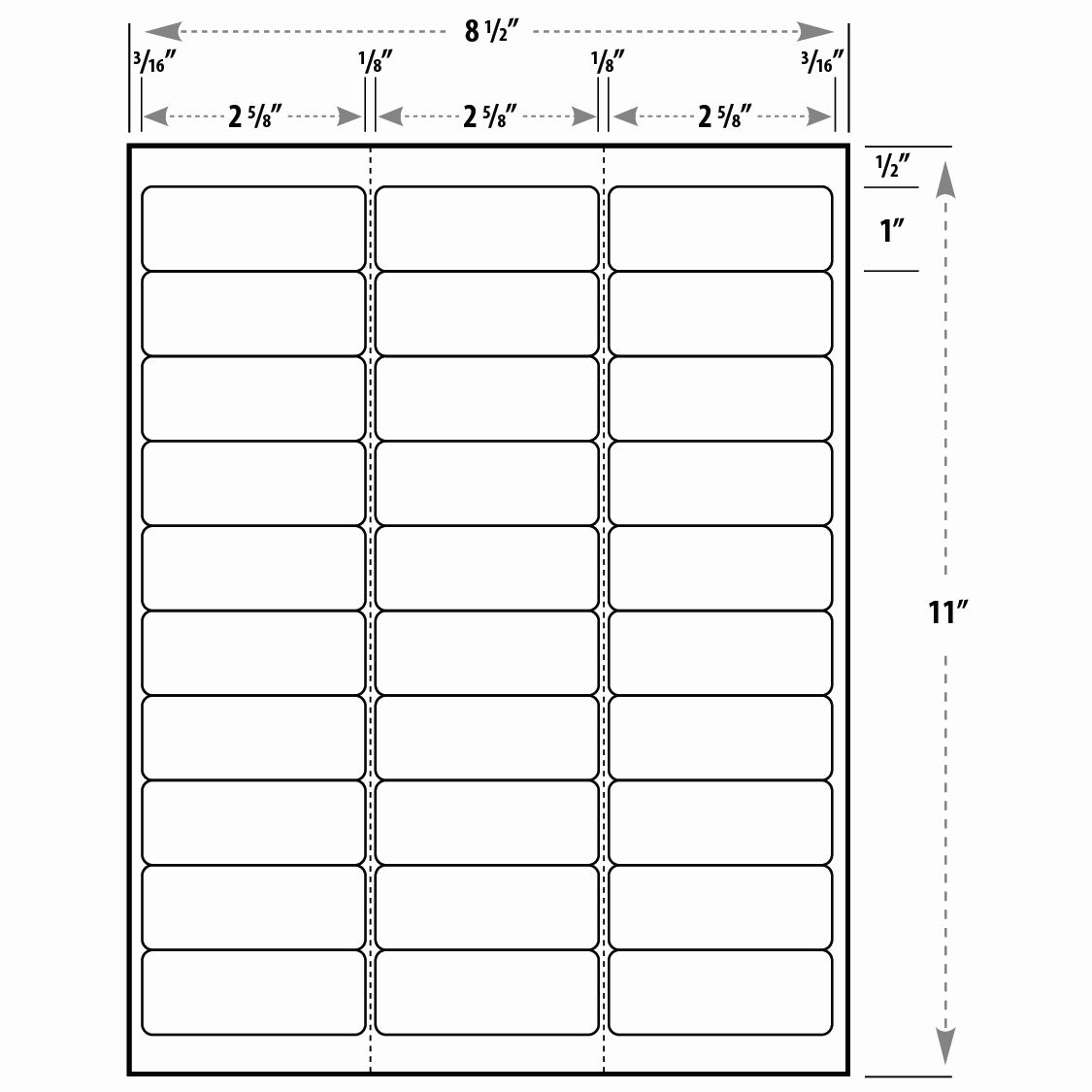 Address Labels 30 Per Page Fresh Best S Of Blank Label Templates 30 Per Sheet Return Addr Address Label Template Return Address Labels Template Label Templates