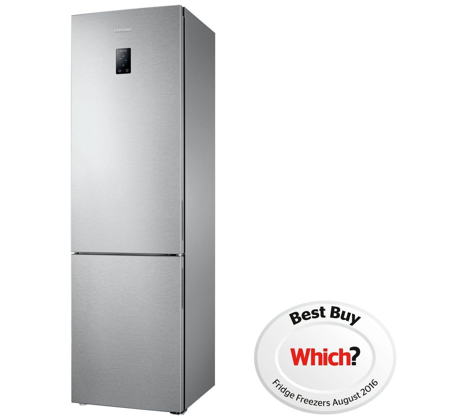 Buy Samsung RB37J5230SA Tall Fridge Freezer - Stainless Steel at ...